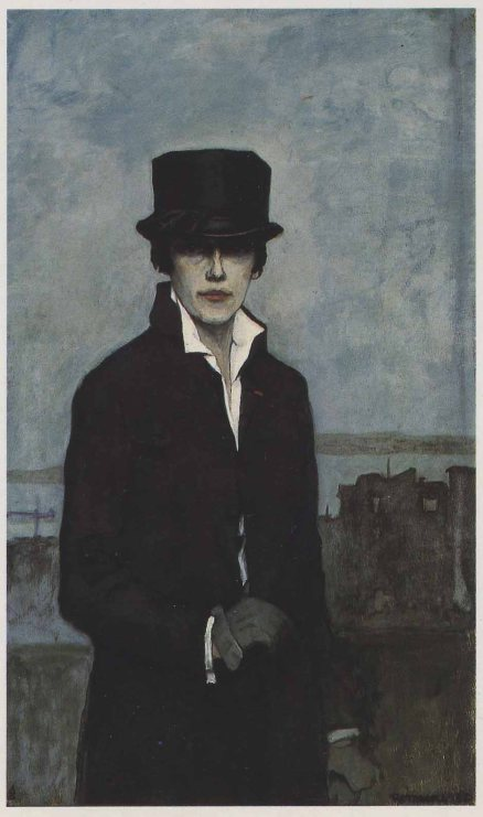 Romaine Brooks Self-Portrait-SAAM