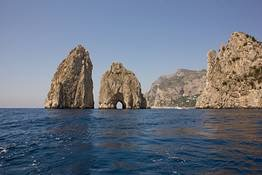 the rocks of Capri